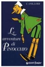 Copertina libro di Pinocchio
