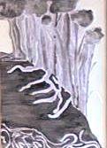 disegno della selva oscura