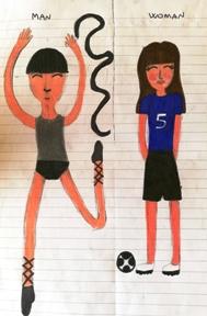 disegno ragazzo/ragazza