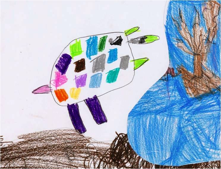 disegno elefante Elmer